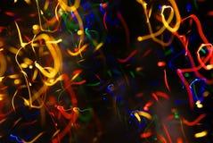 Kleurrijke lichten Stock Afbeelding