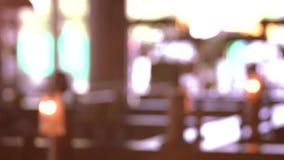 Kleurrijke lichten langzame motie stock videobeelden