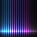 Kleurrijke lichtenachtergrond Royalty-vrije Stock Afbeeldingen