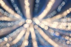 Kleurrijke lichtenachtergrond Stock Afbeeldingen