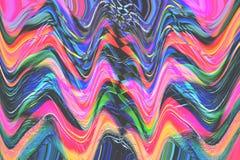 Kleurrijke lijnen Royalty-vrije Stock Foto