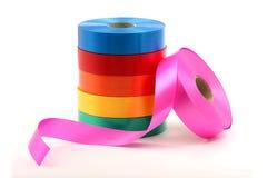 Kleurrijke Linten Stock Foto's