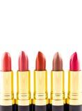 Kleurrijke lippenstift Royalty-vrije Stock Afbeeldingen