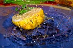 Kleurrijke llemon Stock Afbeeldingen