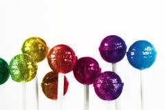 Kleurrijke lollys Royalty-vrije Stock Foto