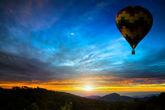 Kleurrijke luchtballonnen Stock Fotografie