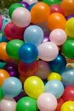 Kleurrijke luchtballons. stock afbeelding