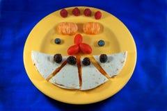 Kleurrijke Lunch Stock Afbeelding