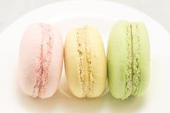 Kleurrijke macaron royalty-vrije stock foto