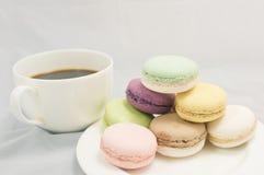 Kleurrijke macaron royalty-vrije stock fotografie
