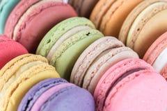 Kleurrijke Macarons Stock Afbeelding