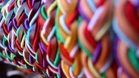 Kleurrijke macrodieptefotografie stock afbeelding