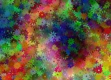 Kleurrijke madeliefjes Stock Afbeelding