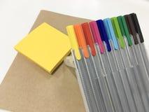 Kleurrijke magische pen Royalty-vrije Stock Afbeelding