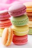 Kleurrijke makarons Royalty-vrije Stock Afbeeldingen