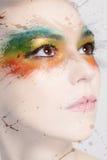 Kleurrijke make-up Stock Afbeelding