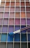 Kleurrijke make-updoos Royalty-vrije Stock Foto's