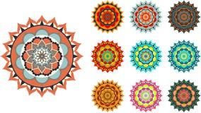 Kleurrijke mandala Stock Fotografie