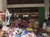 Kleurrijke markt in Bali Indonesië Royalty-vrije Stock Afbeeldingen