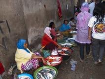 Kleurrijke markt in Bali Indonesië Royalty-vrije Stock Afbeelding