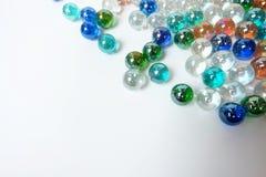 Kleurrijke marmeren balachtergrond Stock Fotografie