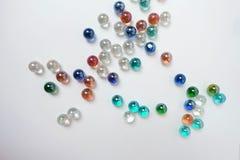 Kleurrijke marmeren balachtergrond Stock Foto