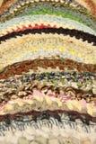 Kleurrijke matten. Stock Foto's