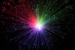Kleurrijke melkweg Stock Afbeeldingen