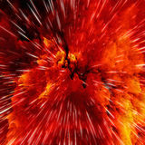 Kleurrijke melkwegwolken en de grote textuur van de klap abstracte ster royalty-vrije illustratie