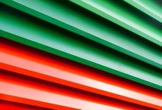 Kleurrijke Metaalzonneblinden Royalty-vrije Stock Afbeelding