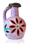 Kleurrijke Mexicaanse bloemvaas Royalty-vrije Stock Afbeeldingen