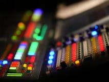 kleurrijke mixerhand Stock Foto