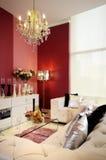 Kleurrijke, moderne woonkamer 02 Stock Afbeeldingen