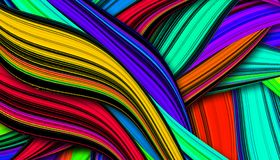 Kleurrijke Mooie Achtergrond Royalty-vrije Stock Afbeeldingen