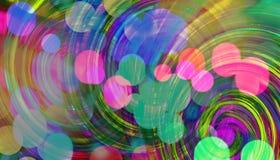 Kleurrijke Mooie Achtergrond Royalty-vrije Stock Afbeelding