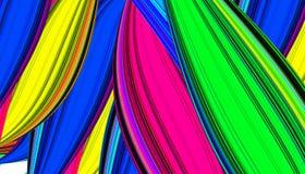 Kleurrijke Mooie Achtergrond Kleurrijke abstracte achtergrond Stock Afbeeldingen