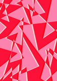Kleurrijke Mooie Achtergrond rode Kleurenvorm Stock Fotografie