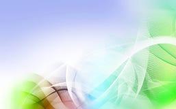 Kleurrijke motielijnen Stock Afbeelding