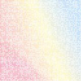 Kleurrijke mozaïek vectoreps10 illustratie als achtergrond rode blauwe illustratie vector illustratie