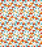 Kleurrijke mozaïekachtergrond Royalty-vrije Stock Afbeelding