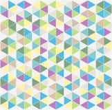 Kleurrijke mozaïekachtergrond Stock Afbeeldingen