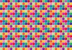 Kleurrijke mozaïekachtergrond. Royalty-vrije Stock Foto's