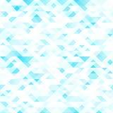 Kleurrijke mozaïekachtergrond Blauwe en witte kleuren royalty-vrije illustratie