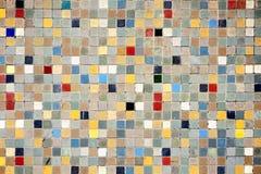 Kleurrijke mozaïektegels Royalty-vrije Stock Fotografie