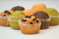 Kleurrijke Muffins stock foto