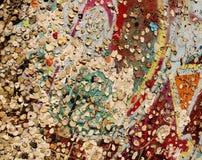 Kleurrijke muur Stock Afbeeldingen