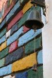 Kleurrijke muur Stock Foto