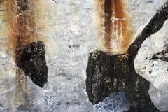 Kleurrijke muur Grunge Stock Afbeelding
