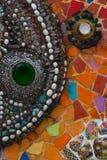 Kleurrijke muursamenvatting Royalty-vrije Stock Afbeeldingen