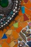Kleurrijke muursamenvatting Stock Afbeelding